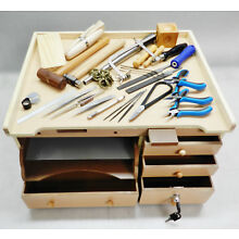 Jewelry Making Workbench & Tools Set of 30 - Bench and Basics to Make Jewelry