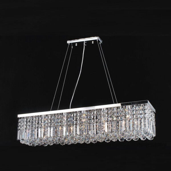 Contemporary crystal pendant lighting Kitchen Island Details About Modern Contemporary K9 Crystal Pendant Light Ceiling Lamp Chandelier Lighting Ebay Modern Contemporary K9 Crystal Pendant Light Ceiling Lamp Chandelier