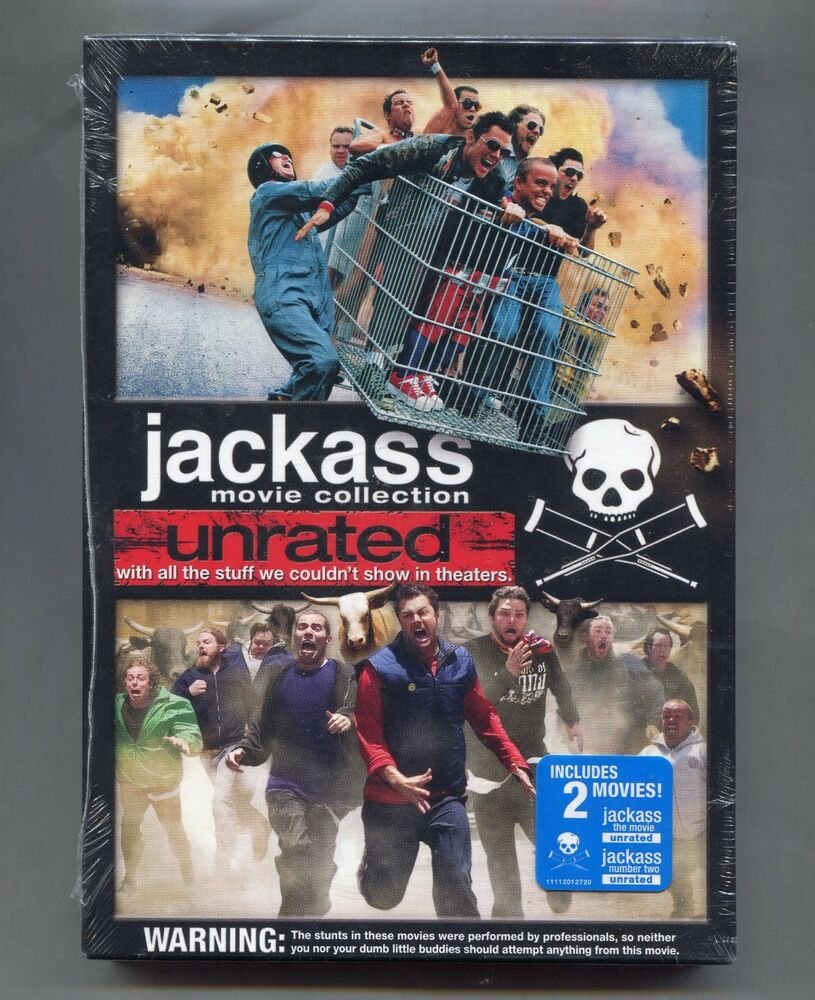 Details About 2 Unrated Jackass Movies Jackass The Movie And Jackass Number Two 2 Disc Sealed