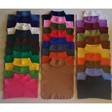 TURTLENECK DICKIES, DICKEY, 28 COLORS MADE IN US DIRECT FROM MFG FREE SHIPPING