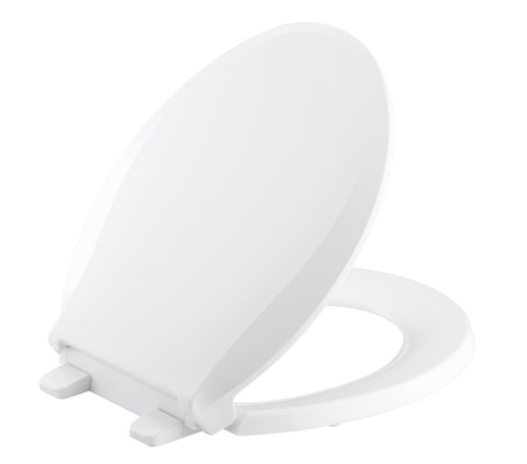 Kohler Slow Soft Close Round Closed Front Toilet Seat