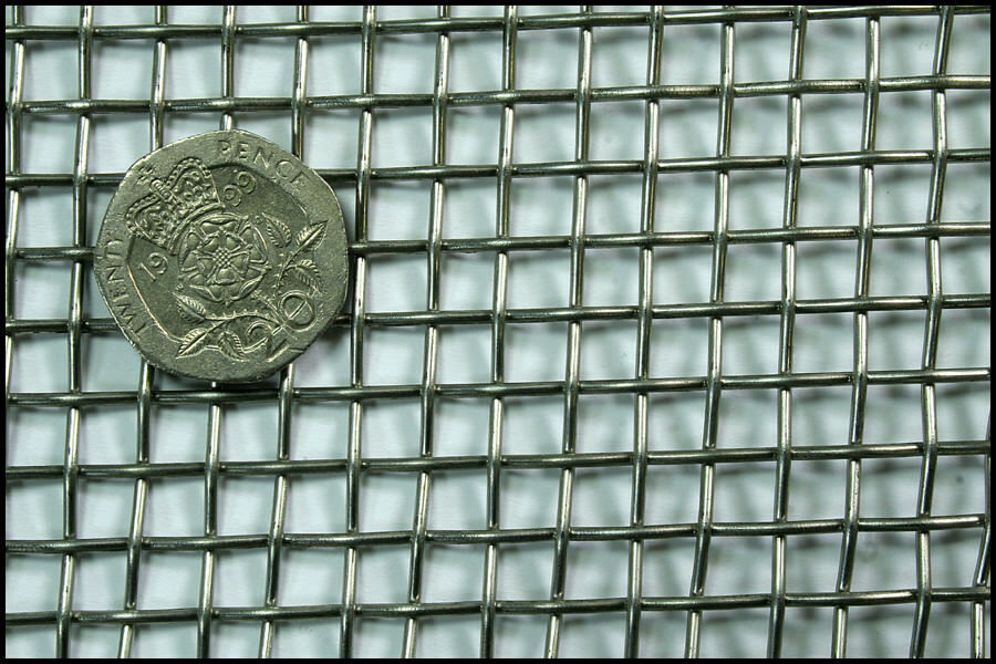Stainless Steel 304 Woven Mesh 4 Mesh 1.6mm Wire 1m x 1.22m | eBay