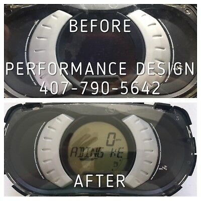 NEW SEA DOO RXT 4TEC INFO GAUGE CLUSTER REPAIR 2010 / 2017