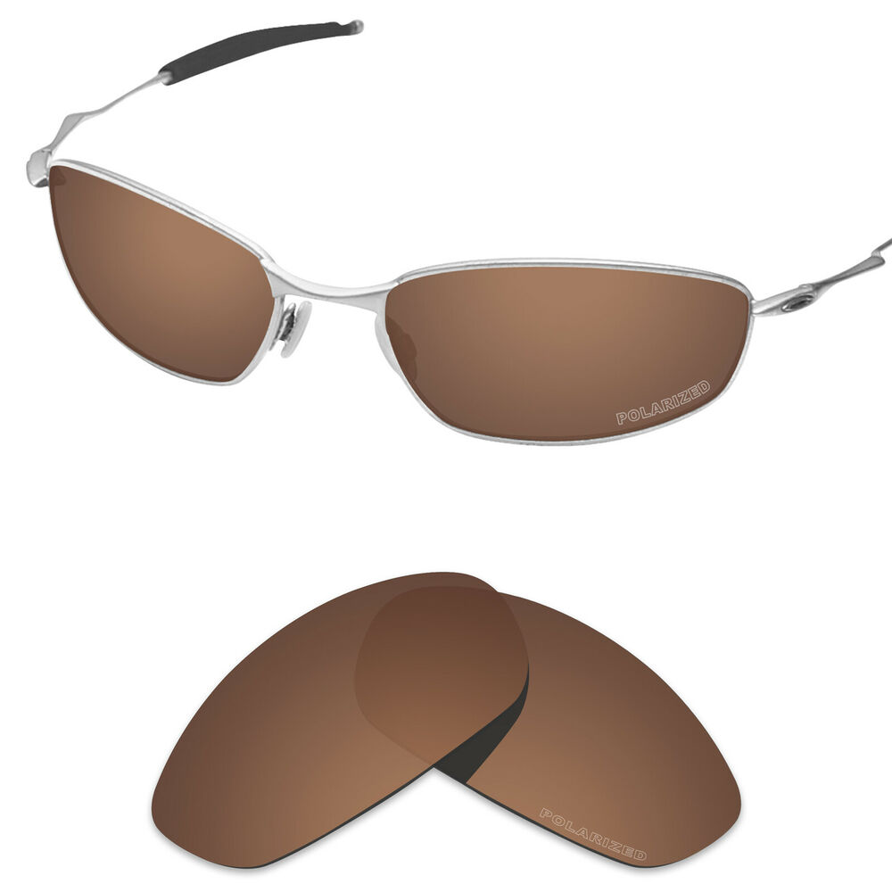 f42b1145fe Details about Tintart Polarized Replacement Lens for-Oakley Whisker Sunglasses  Nut Brown (PFM)