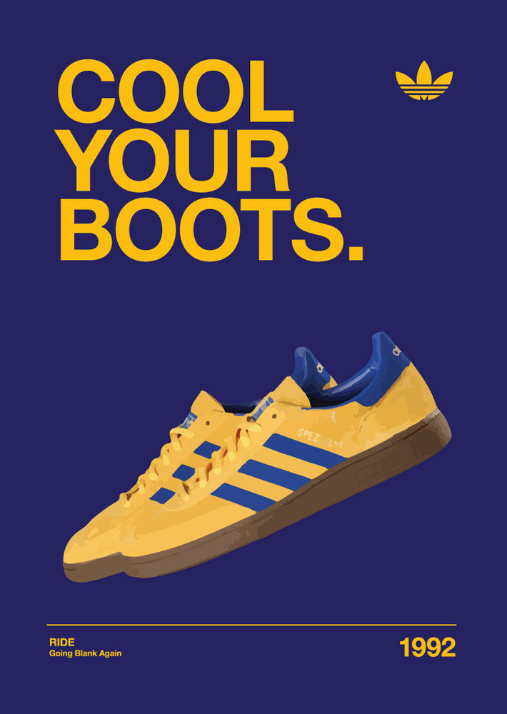 album adidas cool your boots acy01 poster a4 a3 buy2get3rdfree ebay. Black Bedroom Furniture Sets. Home Design Ideas