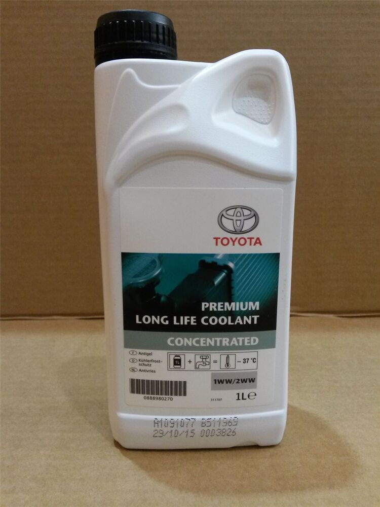 Genuine Toyota Premium Long Life Coolant 1l Concentrate