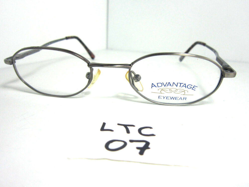 a4d30cfd3e New Advantage Eyewear P3 Style Eyeglass Frame Kids Round Metal Grey  (LTC-07)