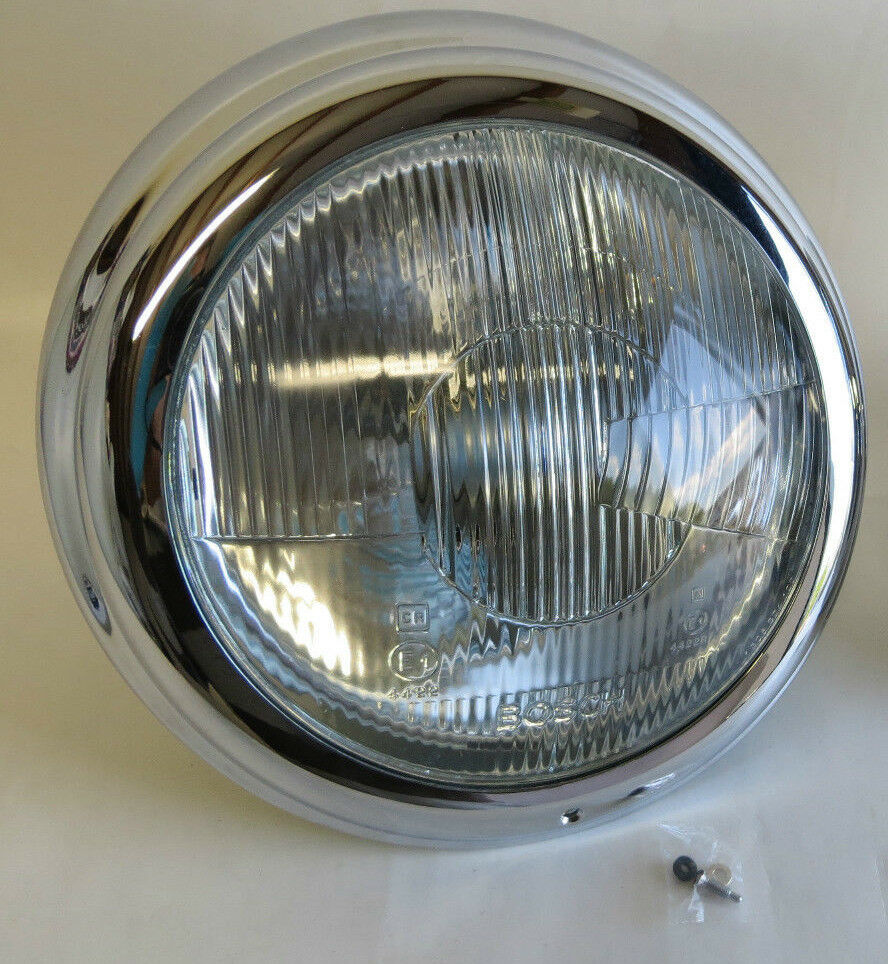 Bosch Vintage Car Truck Headlights For Sale Ebay 19601970 Mercedes Benz Trucks 1 Complete Headlight With Chrome Trim 190sl W121 Lens
