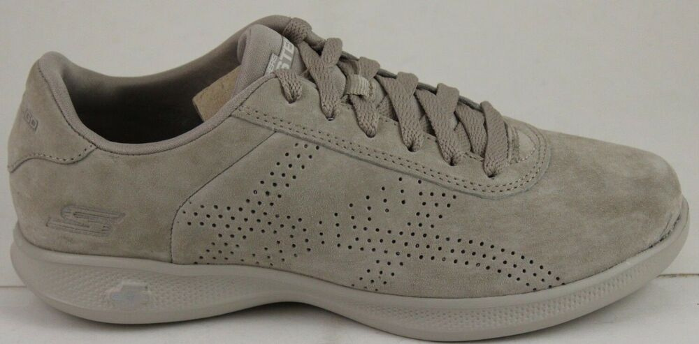 9a27ad1e75bf Details about Skechers Women s Go Step Lite-Deluxe 14700 Taupe 5 Gen  Cushioning New