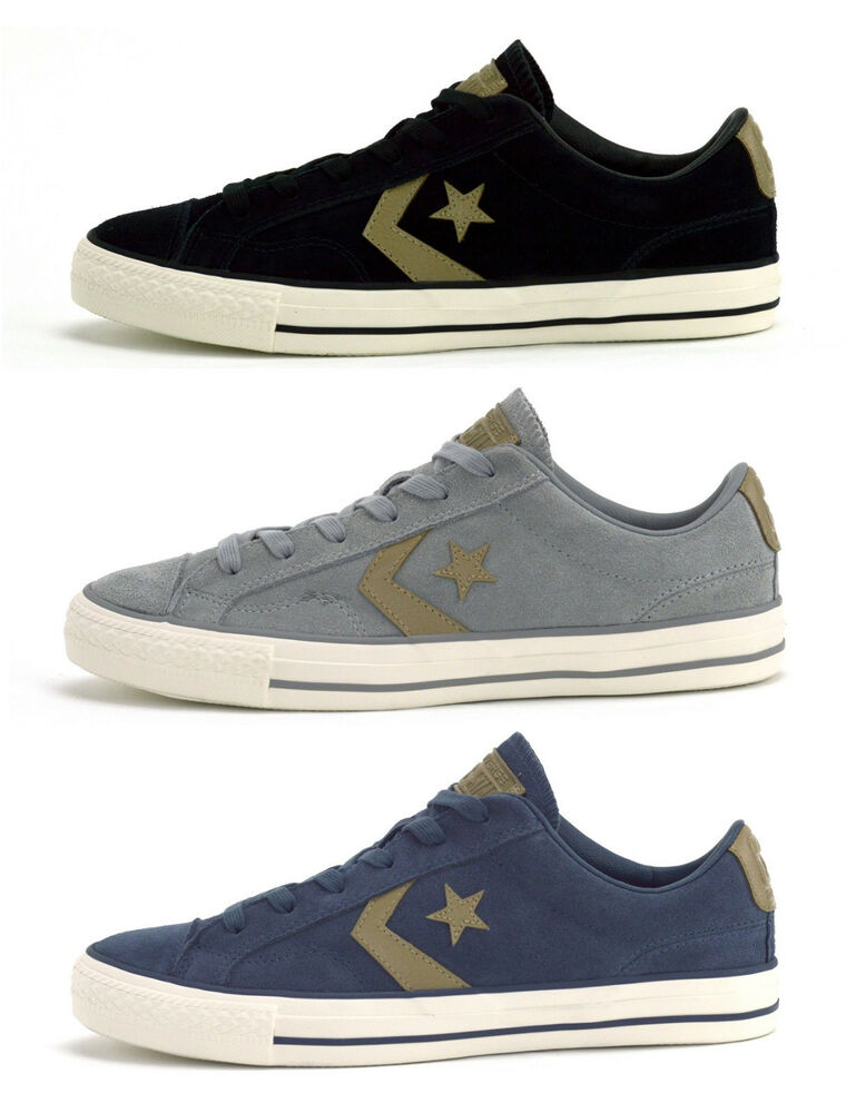 69cbde29112 CONVERSE STAR PLAYER SUEDE OX - MENS SNEAKERS - CHOICE OF COLOURS - BRAND  NEW