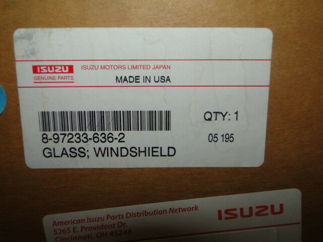 ISUZU WINDSHIELD 8972336362 | eBay