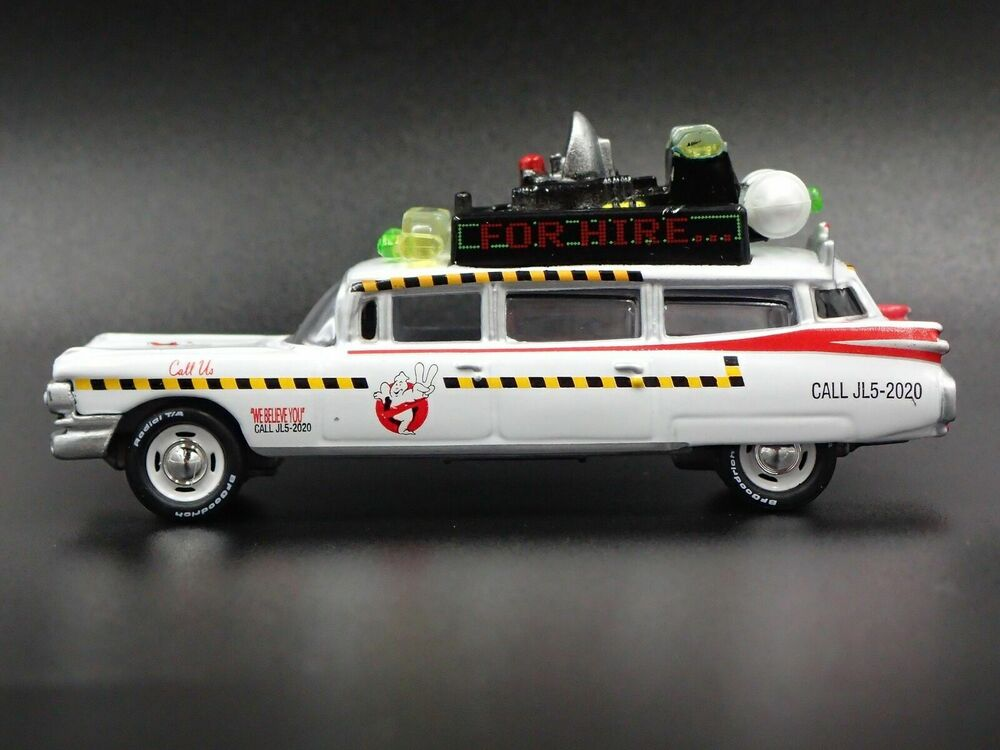 ghostbusters ecto 1 a 1959 cadillac eldorado rare 1 64. Black Bedroom Furniture Sets. Home Design Ideas
