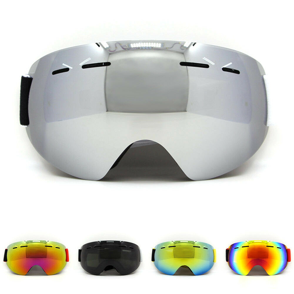73b65a33f10b Details about Anti Fog UV Double Lens Ski Goggles Glasses Adults Snowboard  Goggles Snowmobile