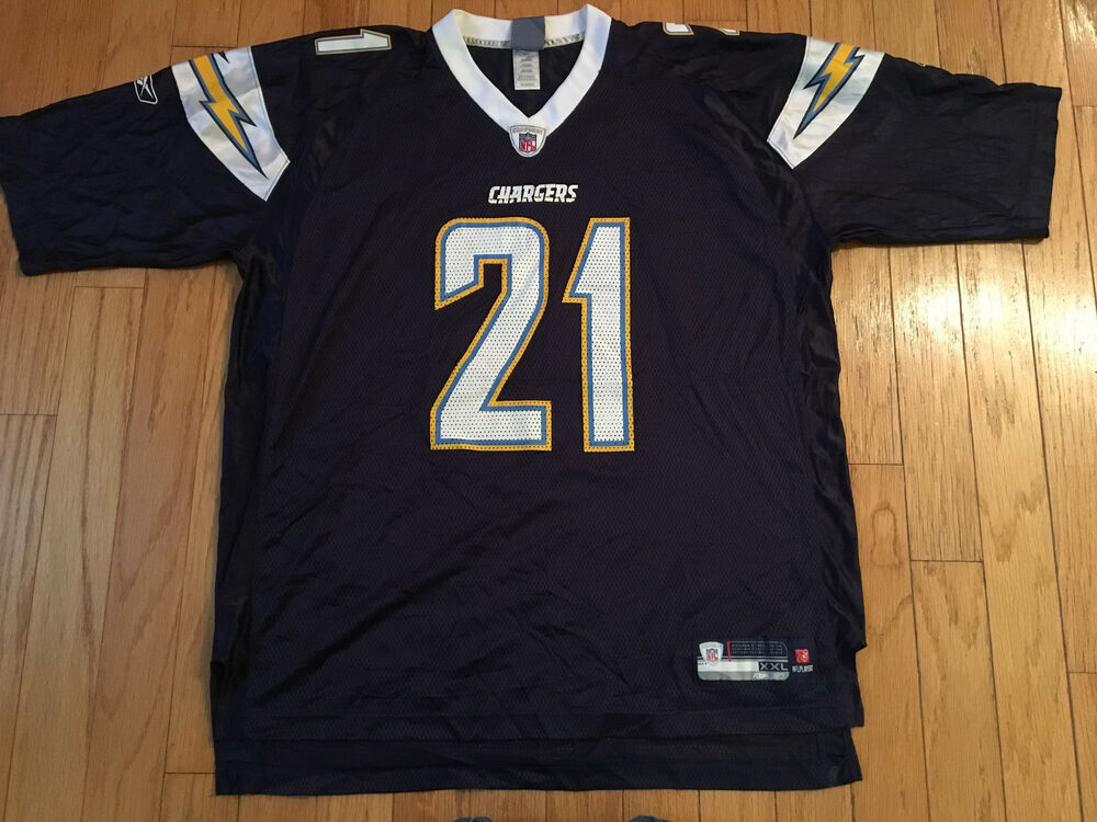 Details about LADAINAIAN TOMLINSON SAN DIEGO CHARGERS REEBOK NFL FOOTBALL  JERSEY MENS 2XL f4451b5d6