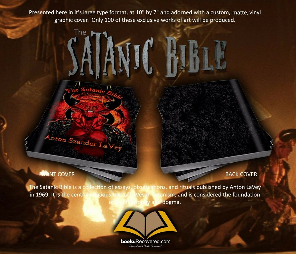 National Honor Society High School Essay The Satanic Bible  Anton Lavey  Devil By Booksrecovered Free Shipping   Ebay Essay Sample For High School also Process Paper Essay The Satanic Bible  Anton Lavey  Devil By Booksrecovered Free  Examples Of Proposal Essays