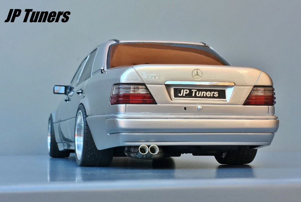 1 18 mercedes e500 w124 tuning jp tuners unique modified golf 1 weiss tuning #8