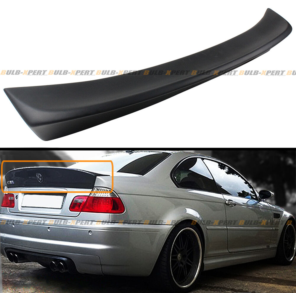 for 2001 06 bmw e46 2dr coupe m3 csl style duckbill. Black Bedroom Furniture Sets. Home Design Ideas