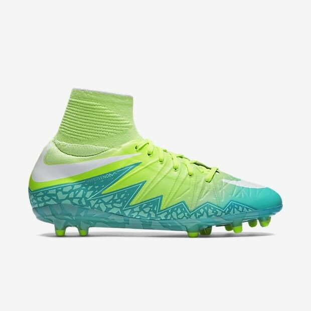 Details about Nike Hypervenom Phantom II FG Soccer Cleats Womens Green Size  13 (718752-313) 0031545ef611