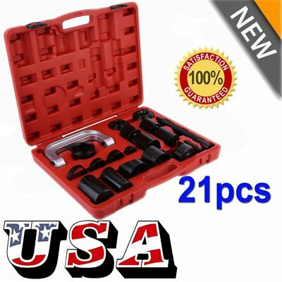 21PCS Press Car Ball Joint Repair Tool Service Kit Remover Installer NEW