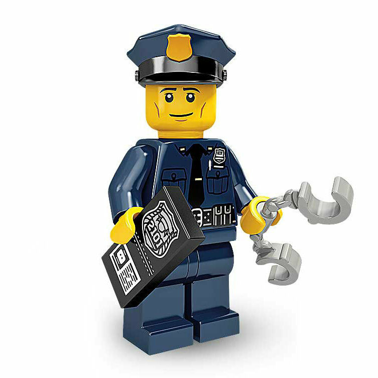 LEGO Policeman - Collectable Minifigure - Series 9 - NEW ...