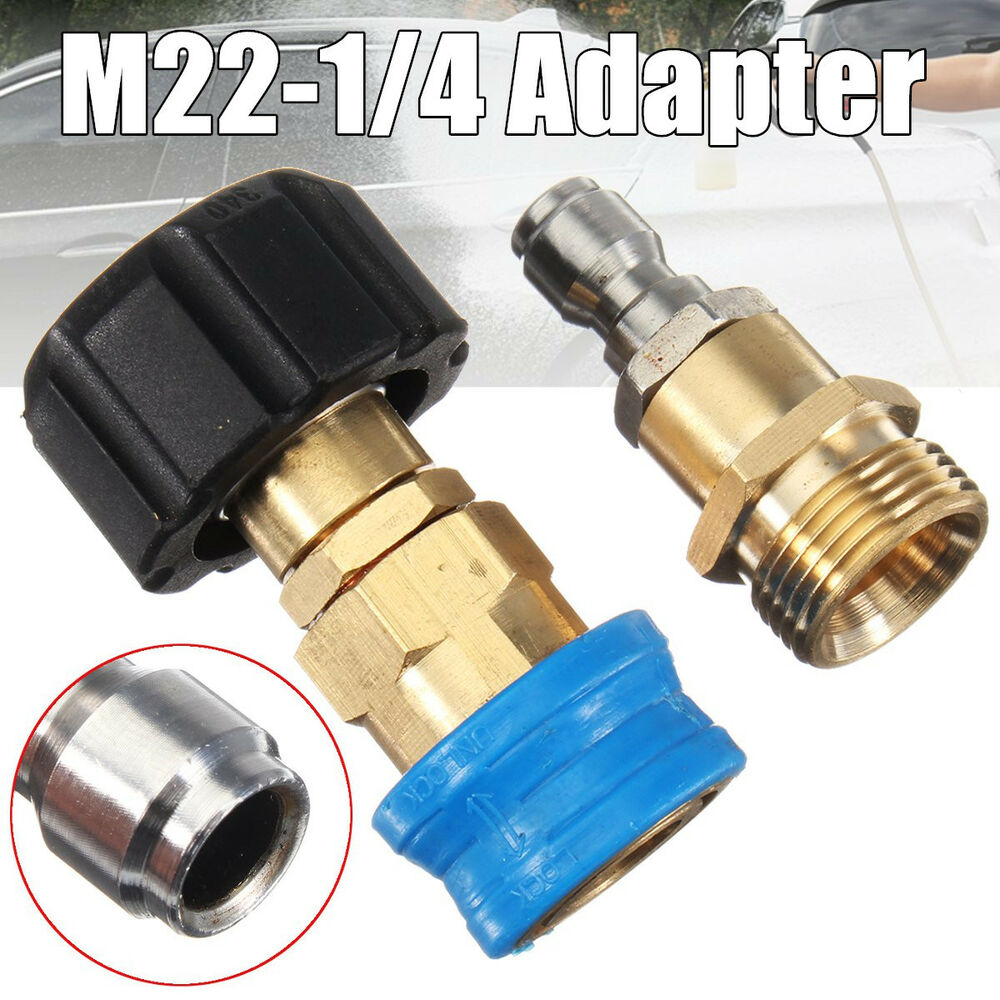 M22 X 1 4 Quot Quick Release Pressure Washer Adapter For