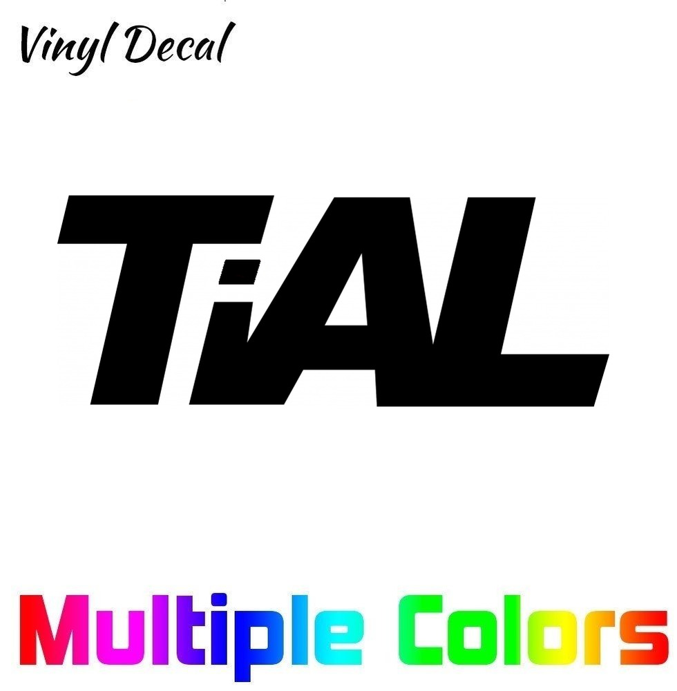 Details about tial logo sticker decal turbo blow off valve jdm euro car window vinyl die cut