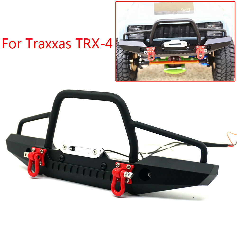 10 Best Land Rover Winch Bumpers Images On Pinterest: 1/10 RC Metal Front Bumper W/ Winch Mount For Traxxas TRX