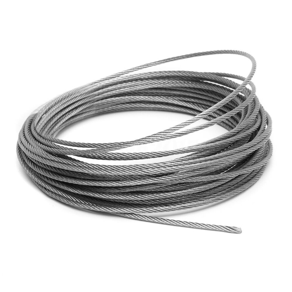 Stainless Steel Wire : Mm stainless steel wire rope cable
