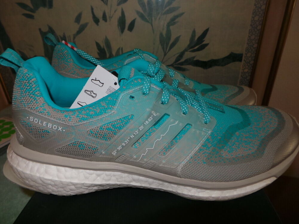 03f3dd84add6f Details about Packer Shoes Solebox Adidas Consortium ENERGY BOOST 11 yeezy  ronnie fieg DS NEW