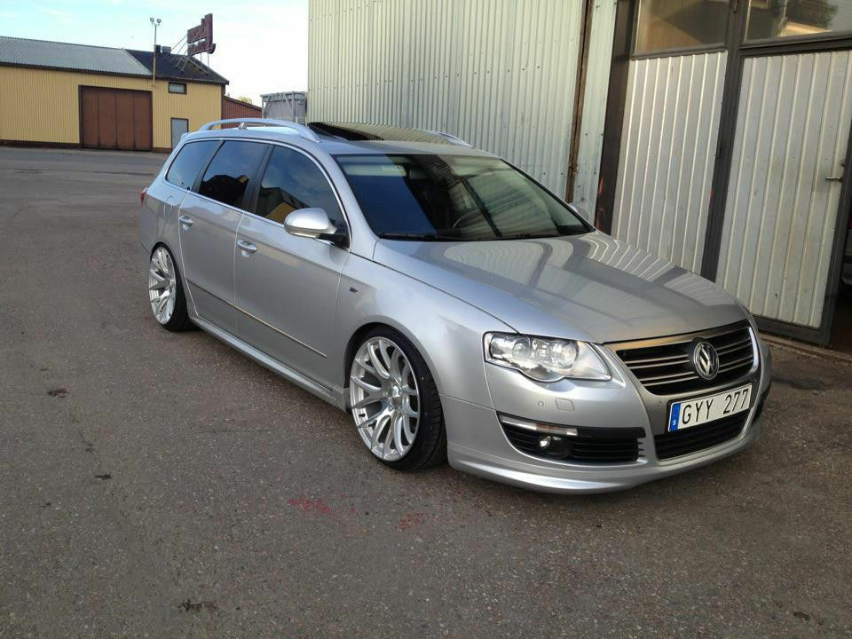 vw passat b6 3c r line look full body kit estate ebay. Black Bedroom Furniture Sets. Home Design Ideas