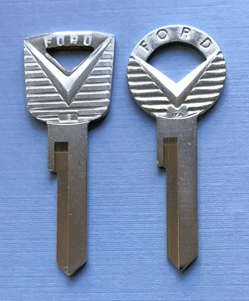 2 ford mustang 1964 1965 1966 64 65 66 v key blanks ebay