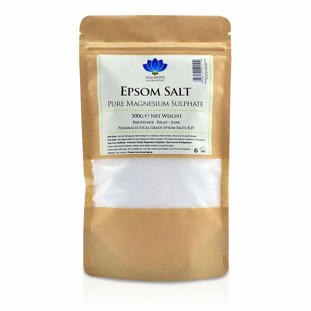 100% Pure Natural Magnesium Sulphate Epsom Salts Bath Soak Un Scented Spa Salt Moderate Price Natural & Alternative Remedies Bath Salts