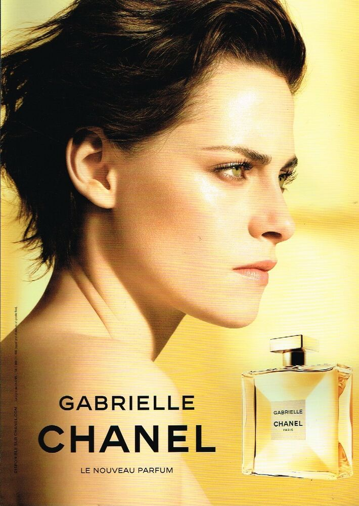 G Publicité Advertising 2017 Parfum Gabrielle De Chanel Ebay