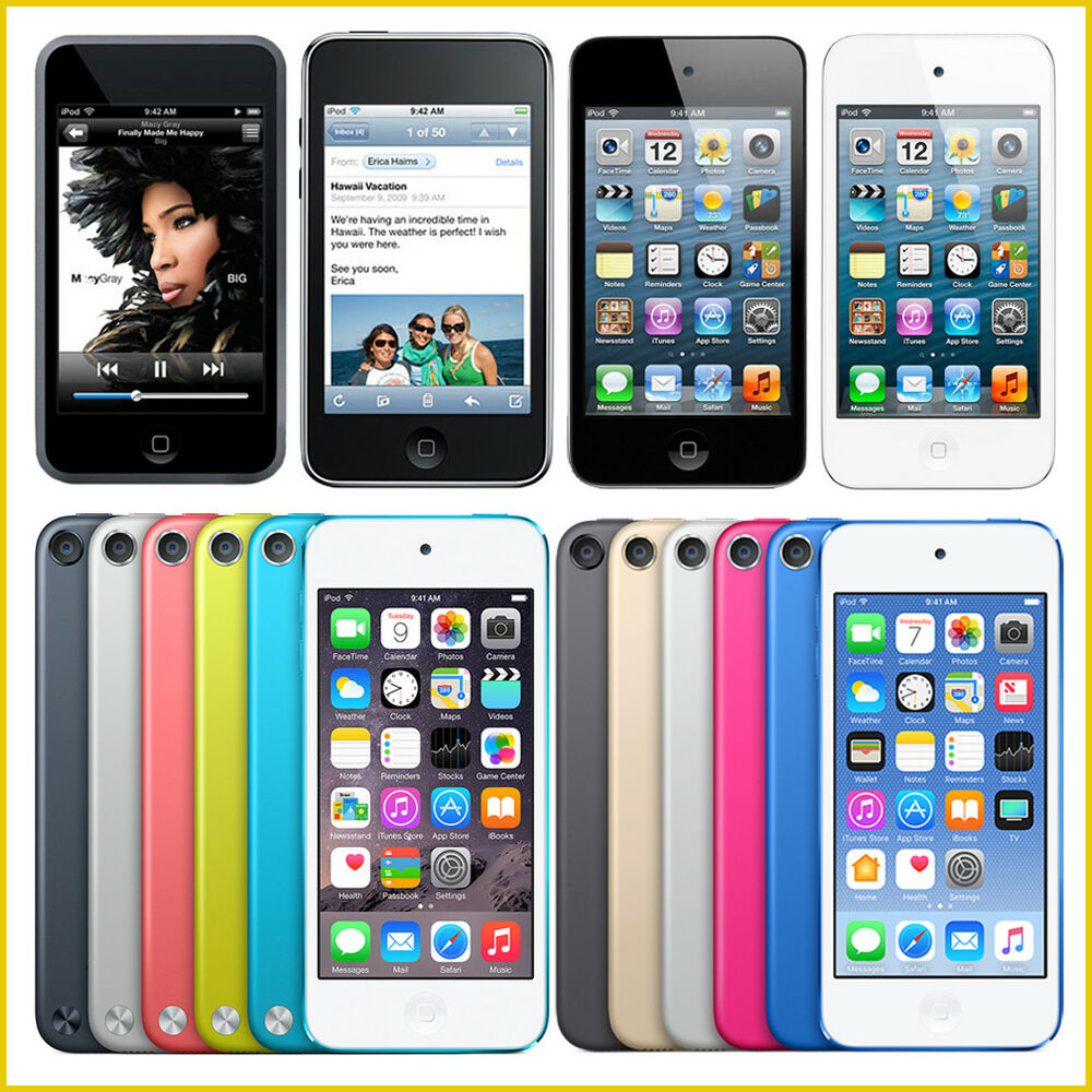 Apple iPod Touch 1st, 2nd, 3rd, 4th, 5th, 6th Generation ...