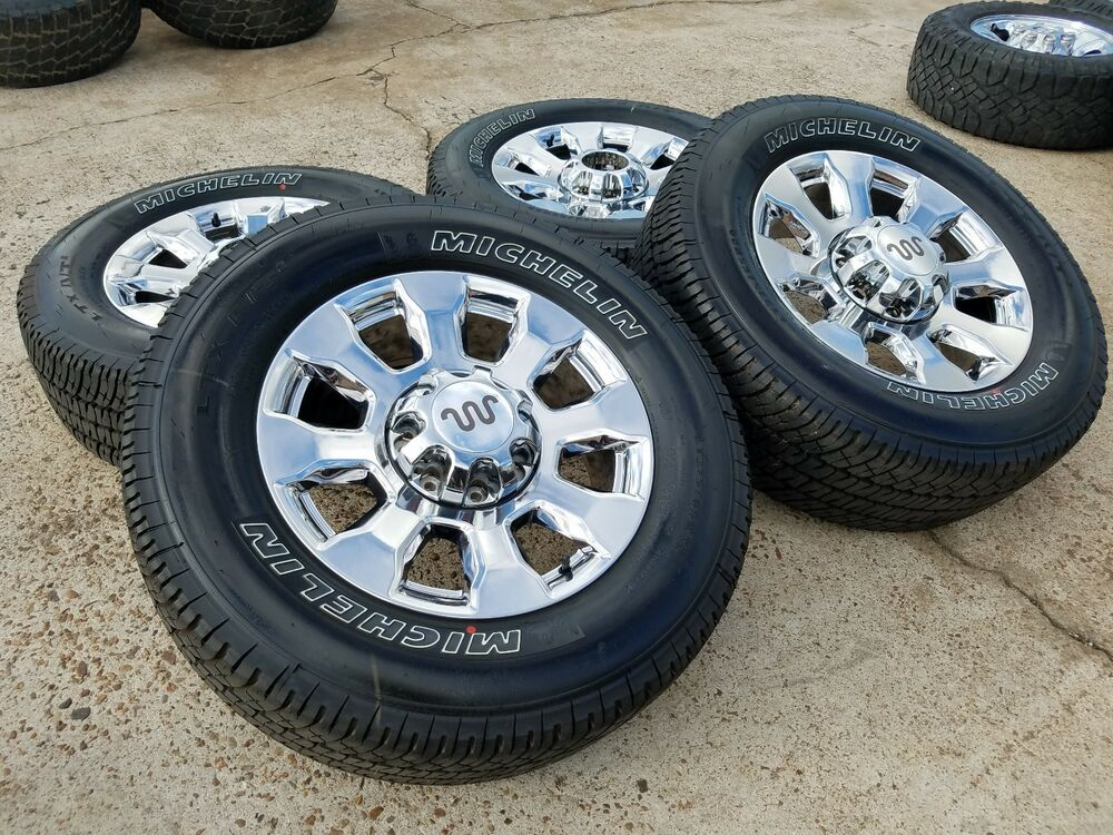 "20"" Ford F-350 F-250 2017 Platinum OEM rims wheels tires 2005 2015 2016 2018 