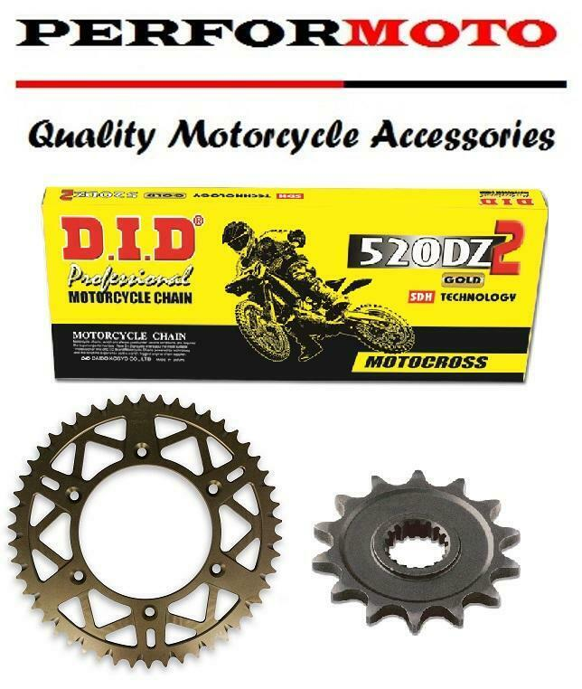 KTM 300 EXC Enduro 95-98 DID 520 Pitch 114 Link Recommended Chain
