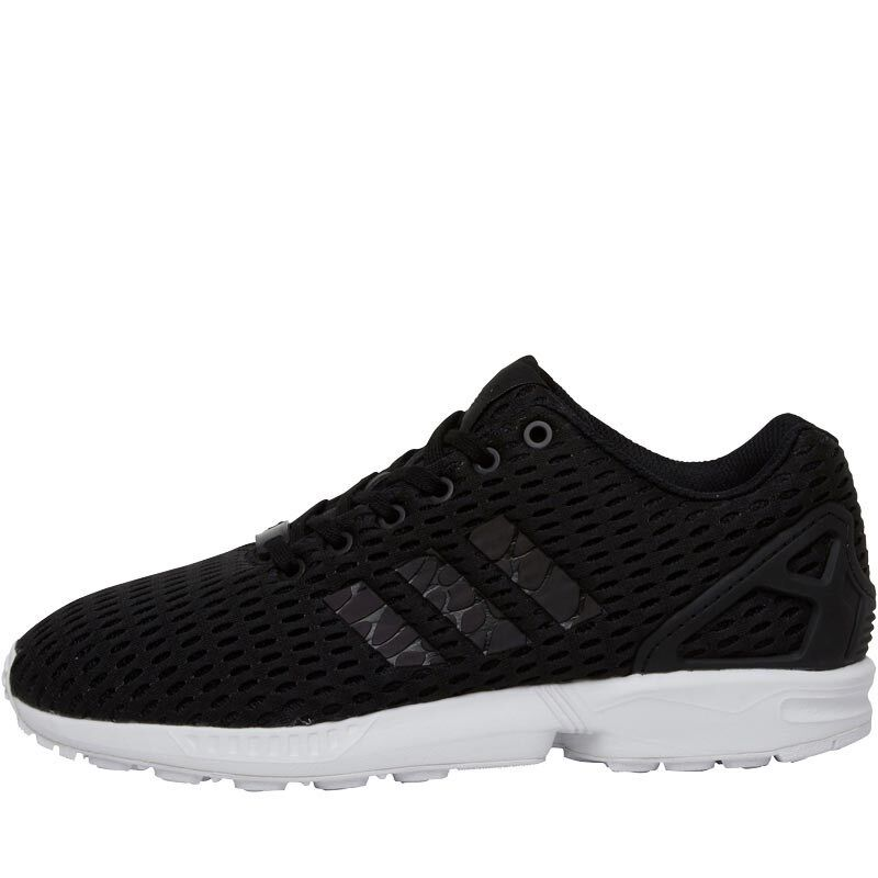 1824e0ec909 Details about adidas Originals ZX Flux Xeno Mens UK 7 Black Torsion  Sneakers Trainers S79354