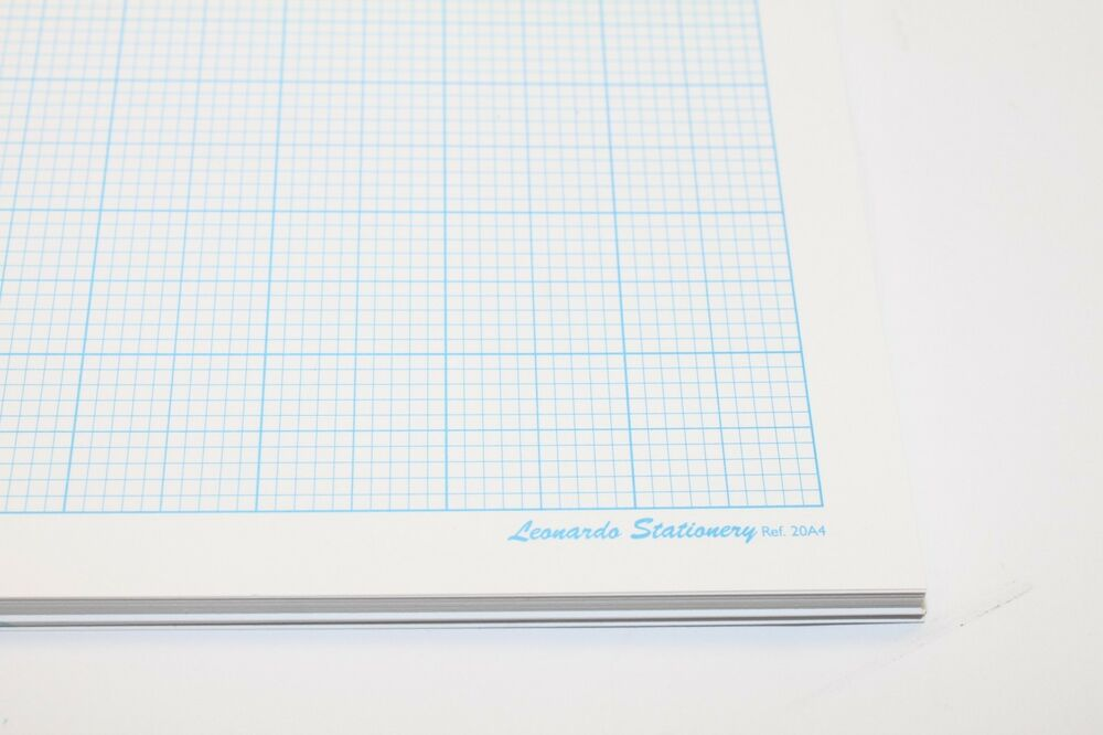 a4 single sided 80gsm smooth graph paper  1mm  5mm  10mm