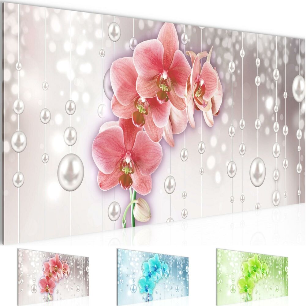 wandbilder xxl bilder blumen orchidee vlies leinwand bild kunstdruck 208112p ebay. Black Bedroom Furniture Sets. Home Design Ideas