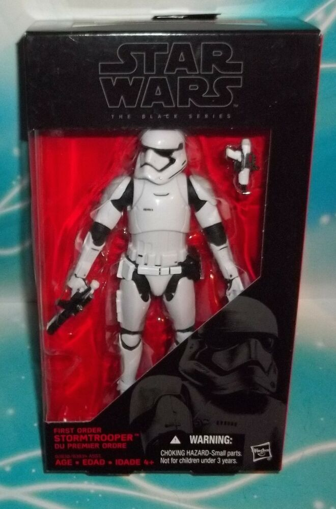 Stormtrooper 04 Black Series 6 inch Force Awakens Action Figure Star Wars