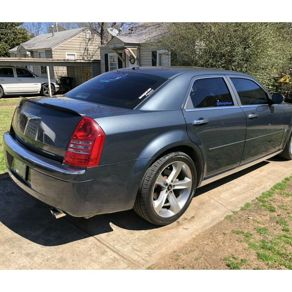 Flat Black PUF H648 Trunk Spoiler Wing For 2005-10