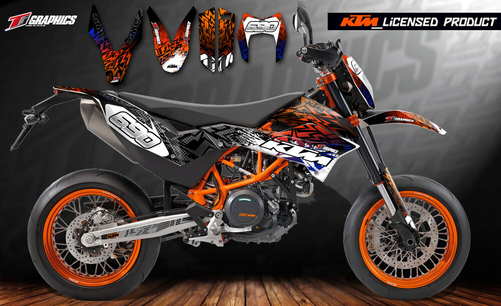 ktm dekor 690 smc r supermoto 2012 2017 ktm licensed. Black Bedroom Furniture Sets. Home Design Ideas