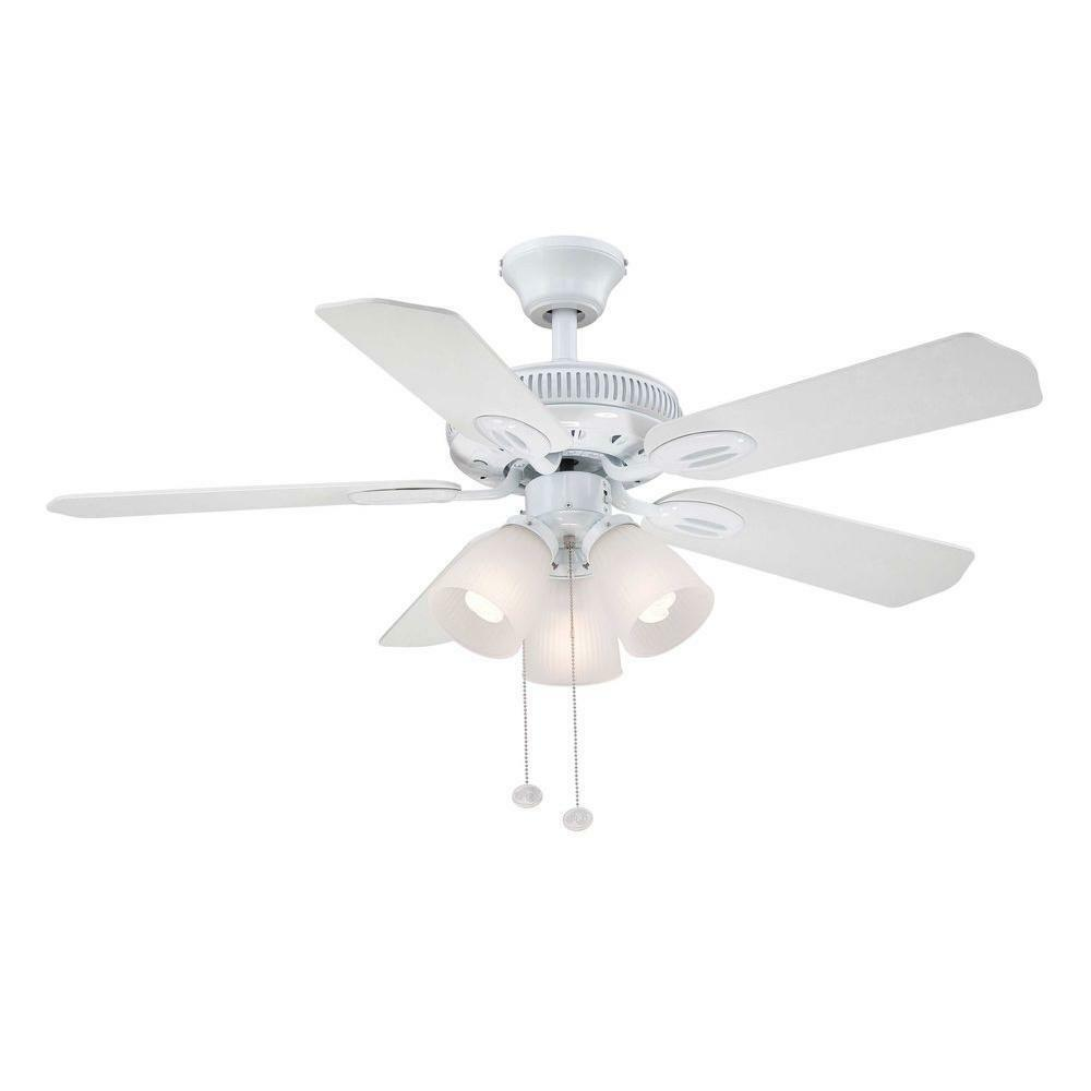 Hampton Bay Glendale 42 In. White Ceiling Fan Replacement