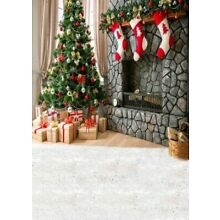 US 5x7ft Vintage Brick Wooden Background Photography Backdrops Adult Photo Props