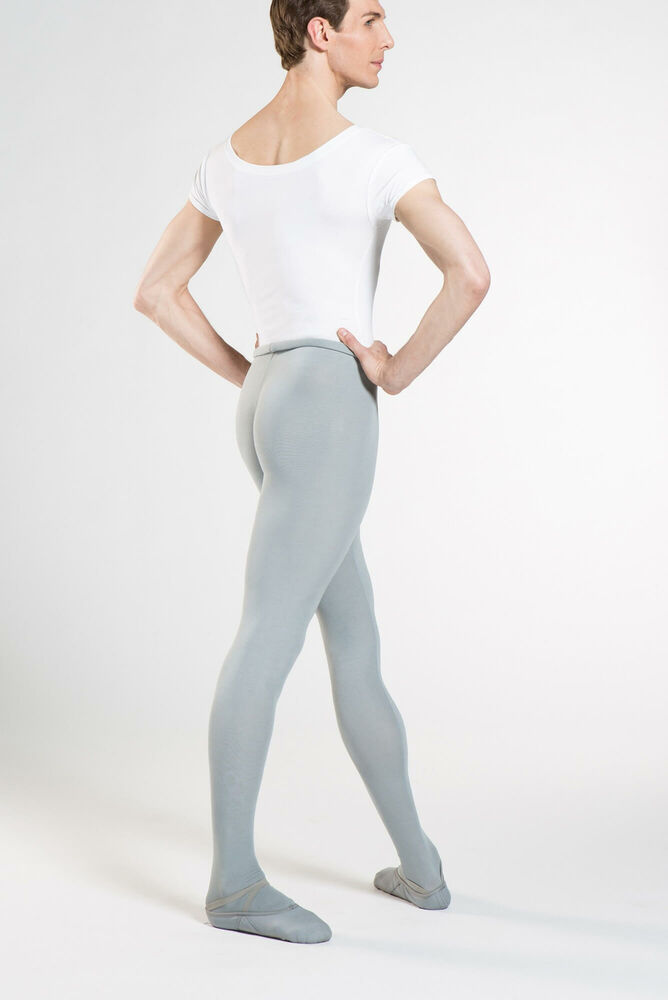 a6fefbc748c Details about Wear Moi SOLO Men Footed Ballet Tights Dance Tights