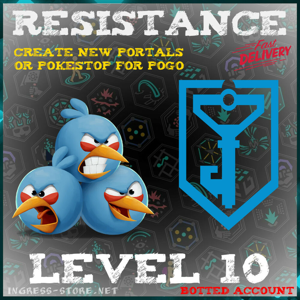 INGRESS LEVEL 10 RES OR ENL BOT ACCOUNT NOT guarantee | eBay
