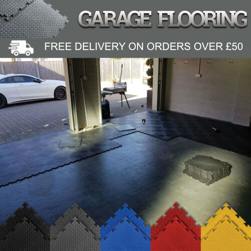 Garage Floor Interlocking Vinyl Pvc Tiles Heavy Duty