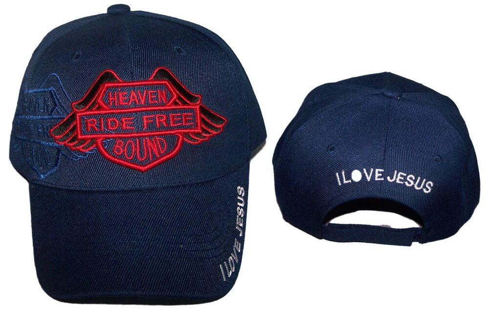 b23618ea090 Details about Heaven Bound Ride Free Christian Baseball Caps Hats  Embroidered (CCap250   )