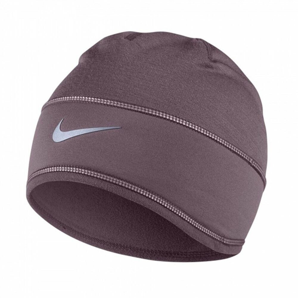 Details about NEW TAGS NIKE WOMEN S RUNNING TRAINING BEANIE SKULLY HAT CAP  PURPLE DRI FIT 1b6ca7c4e89
