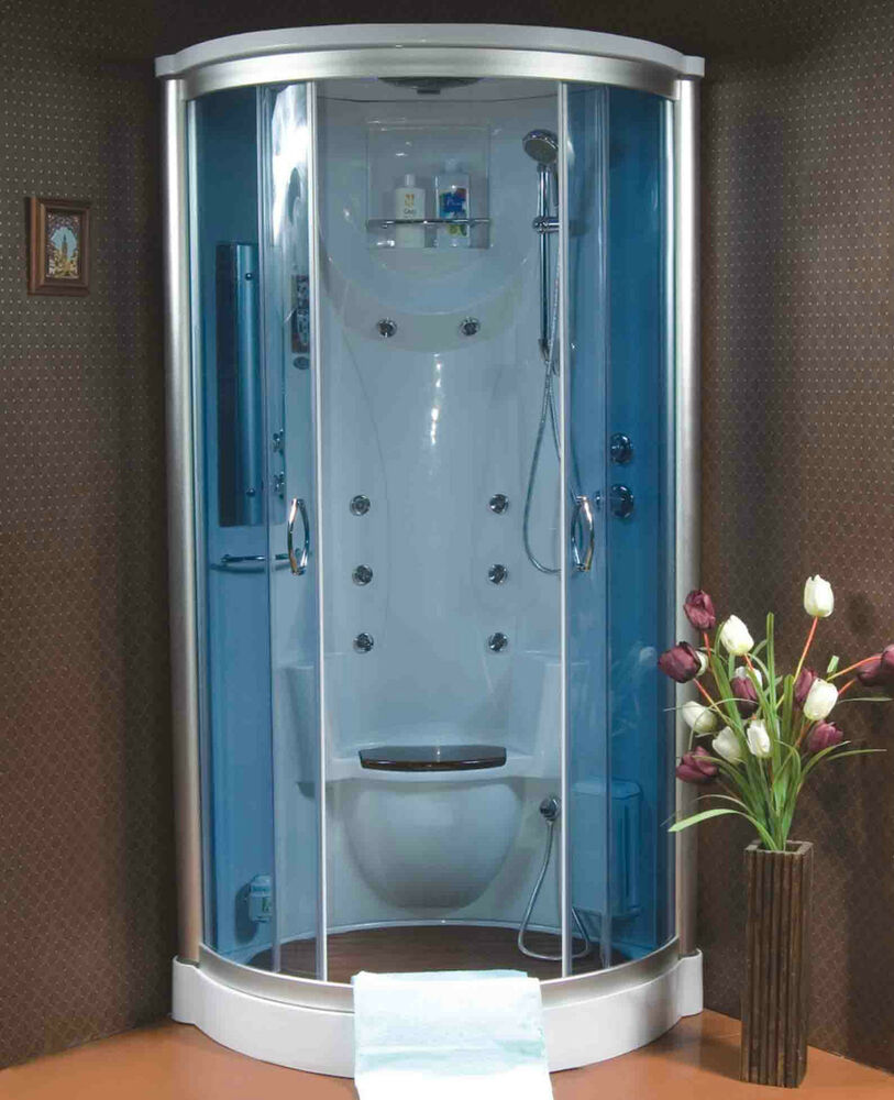 Steam Shower Room w/Hydro Massage,termostatic,ozone,Bluetooth,USA ...